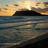 Pyramid Rock Beach Sunrise, MCBH, Kaneohe Bay, Hawaii