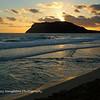 Pyramid Rock Beach Sunrise, MCBH, Kaneohe Bay, Hawaii