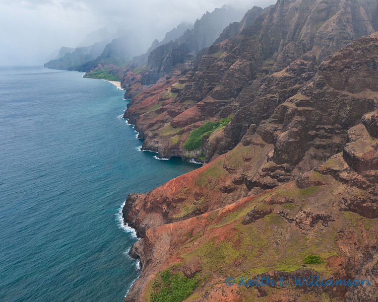 The stunning Napali Coast, Kauai