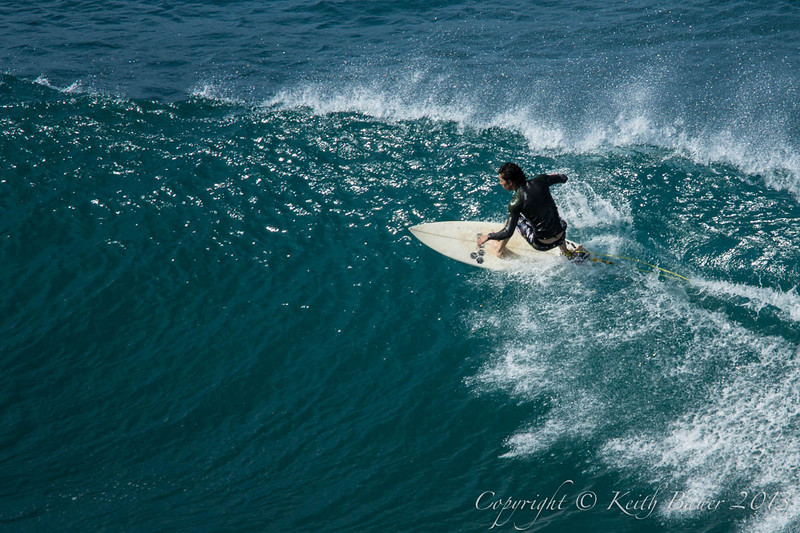 Surfing Near the Top