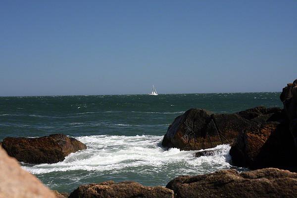 Sailing in Narragansett