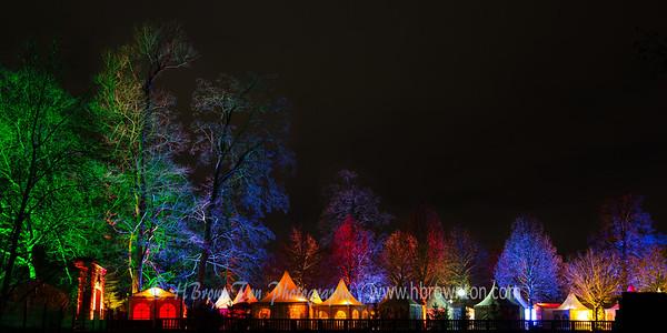 Festival of lights at Heidelberg Castle