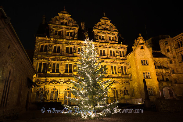 Heidelberg Castle Christmas Tree