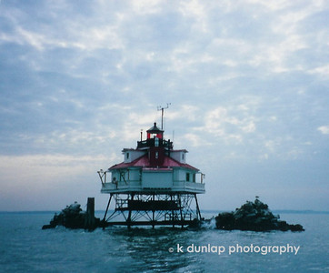This is the famous lighthouse in Maryland.  I took this photo many years ago with a little basic film camera.  It's still one of my favorite photo's.