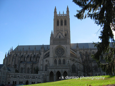 The National Cathedral in Washington DC.   I had a customer down the street and after my appointment I grabbed a few shots.  It was one of those beautiful early October skies where the air is clear and moving from summer to fall.