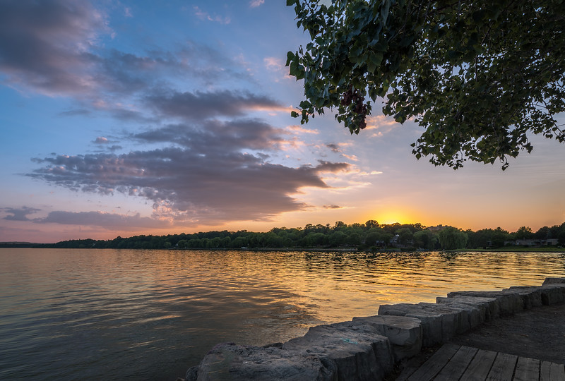 La Salle Park Sunset