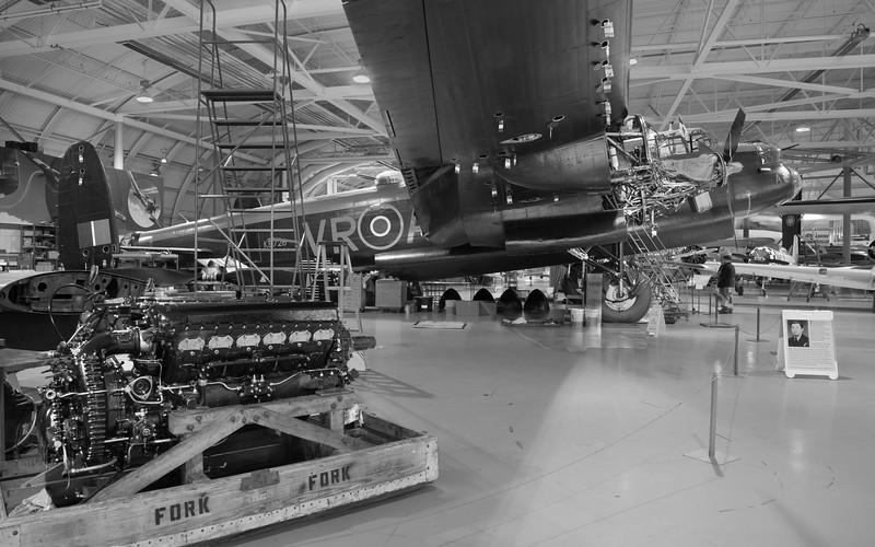 Mynarski Lancaster at CWH Museum