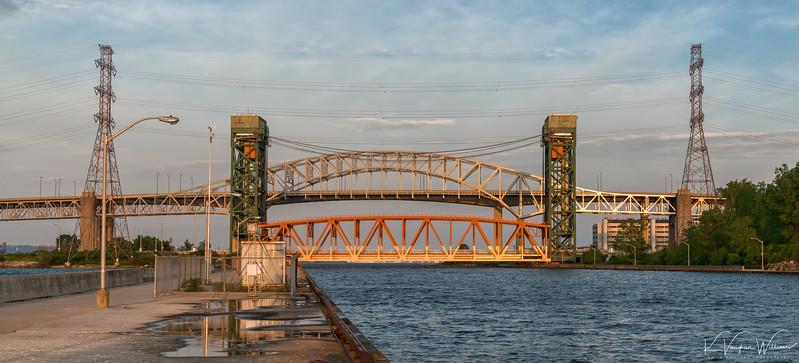 Three Bridges, Four Towers