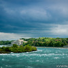 Intake House, upstream from the Horseshoe Falls, Niagara.