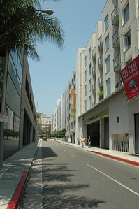 Street in Hollywood