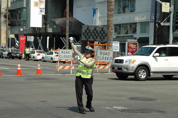 Hollywood Blvd near Kodak theatre