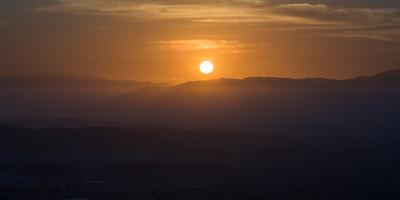 Sunrise over San Pedro Sula, Honduras