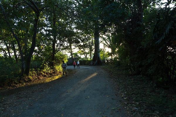 Back down Reserva Municipal Merendo...