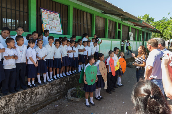 Visit to Escuela Isonlina Torres de Zavala