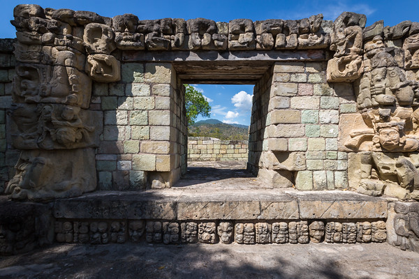 Ancient Copán Ruinas -- One of the most important sites of Maya Civilization