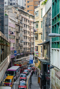 Congestion on the Ground in the Canyonlands of People Trees Hong Kong, People's Republic of China 2015
