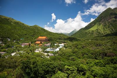 Buddhist Monastery, Lantau Island