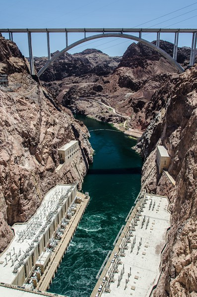 View from Hoover Dam