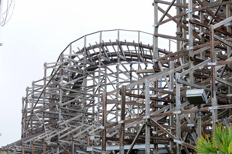 Boardwalk Bullet Roller Coaster, Kemah, TX