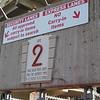 We enter the stadium through Gate 2.