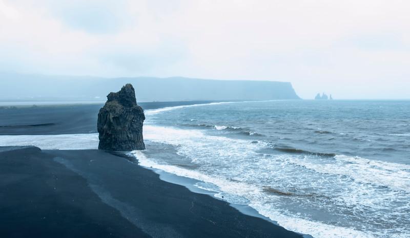 Vik coast.
