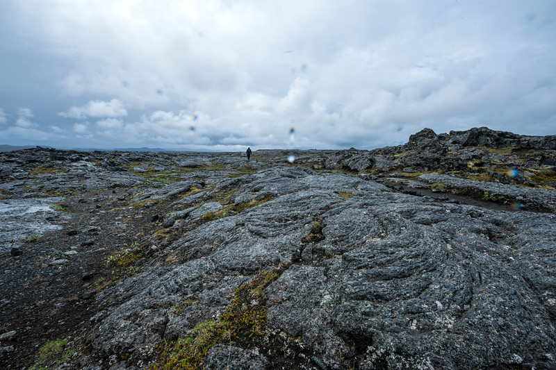 Lava field inland close to Askja in Iceland