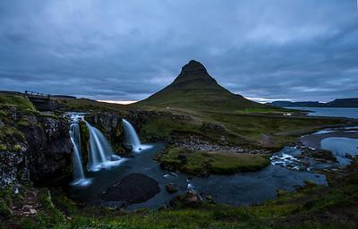 Kirkjufellsfoss on Snæfellsnes Peninsula.