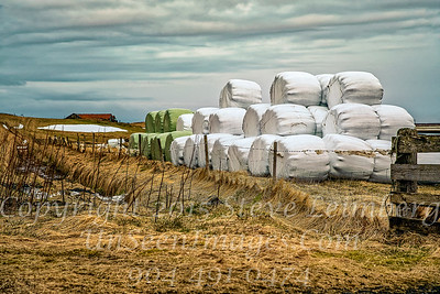 Farm Bales of Hay - Copyright 2017 Steve Leimberg - UnSeenImages Com _DSC8818