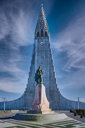 Hallgrímskirkja  Iceland Copyright 2021 Steve Leimberg UnSeenImages Com _DSC3821-Enhanced copy