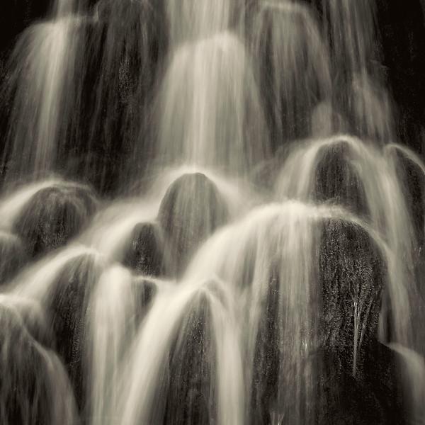 Waterfall B&W - Iceland - Copyright 2015 Steve Leimberg - UnSeenImages Com _U0U7570