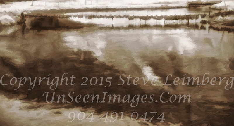 Nets - PAINTING - B&W Copyright 2017 Steve Leimberg - UnSeenImages Com _DSC8788