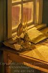 Old Lamp - Desk of Icelandic Poet - Copyright 2017 Steve Leimberg - UnSeenImages Com _DSC5123
