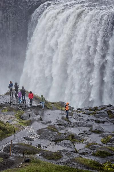People Under Waterfalls - Iceland - Copyright 2015 Steve Leimberg - UnSeenImages Com _H1R1548