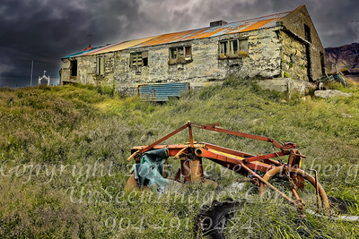 Old Tractor at Farmhouse - Copyright 2017 Steve Leimberg - UnSeenImages Com _Z2A1045