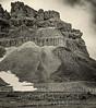 Greek Temple Mountain - B&W Copyright 2017 Steve Leimberg - UnSeenImages Com _DSC8783