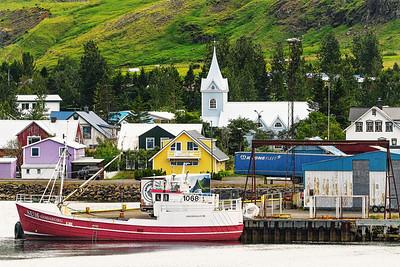 Seydisfjordur Iceland - August 6  2020- Fishing vessel Godaborg Copyright 2021 Steve Leimberg UnSeenImages Com _DSC4243 copy