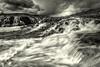 Go with the Flow - Waterfall - Iceland B&W - Copyright 2015 Steve Leimberg - UnSeenImages Com _U0U7262