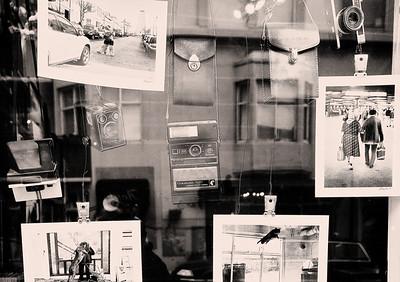 Camera Shop Window Reykjavik Iceland  B&W  Copyright 2021 Steve Leimberg UnSeenImages Com _U0A9710 copy