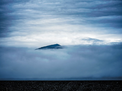 Peaking Mountain Iceland Copyright 2021 Steve Leimberg UnSeenImages Com _DSF1103