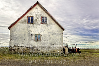 Farmhouse and Tractor - Copyright 2017 Steve Leimberg - UnSeenImages Com _Z2A0948
