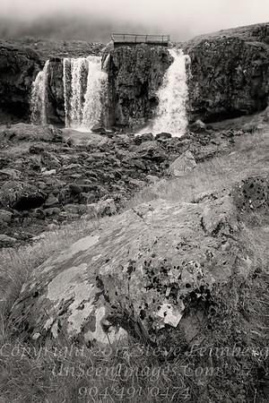 Waterfalls - B&W Copyright 2017 Steve Leimberg - UnSeenImages Com _Z2A2275