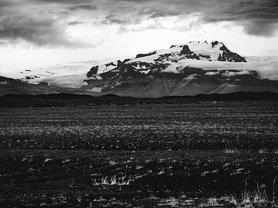 Mountain Beyond Lava Field Copyright 2021 Steve Leimberg UnSeenImages Com _DSF1603
