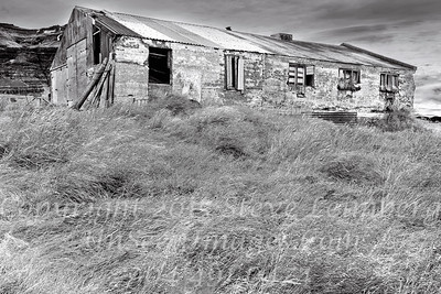 Old Barn in Iceland - B&W Copyright 2017 Steve Leimberg - UnSeenImages Com _Z2A0911