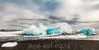 Waves Crashing on Iceberg - Copyright 2017 Steve Leimberg - UnSeenImages Com _Z2A1420