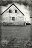 Farmhouse and Tractor II - B&W Copyright 2017 Steve Leimberg - UnSeenImages Com _Z2A0955