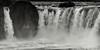 Godafoss Waterfall - B&W Copyright 2015 Steve Leimberg - UnSeenImages Com _H1R1402
