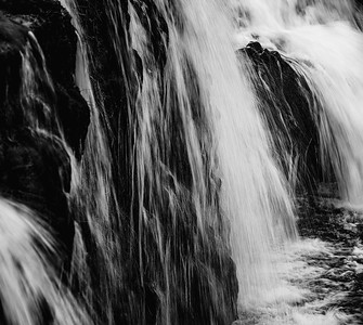 Waterfall Iceland B&W Copyright 2021 Steve Leimberg UnSeenImages Com _DSF1082