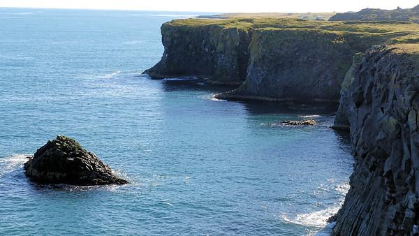Cliff View in Arnarstapi