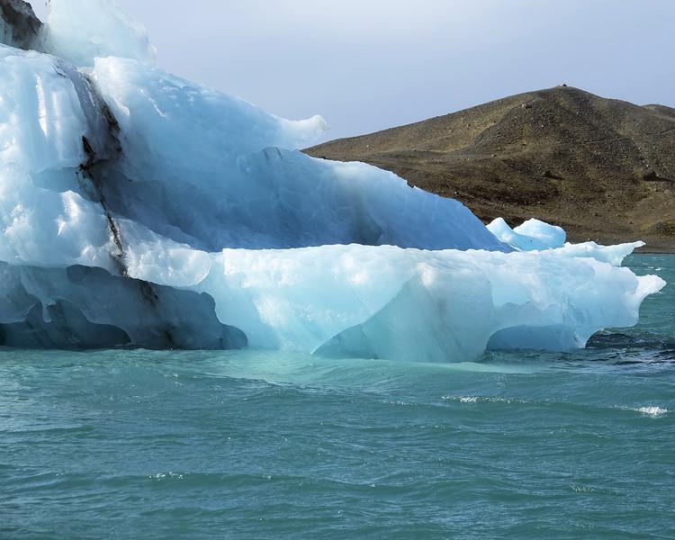 Jokulsarlon Glacier Lagoon Up close and personal