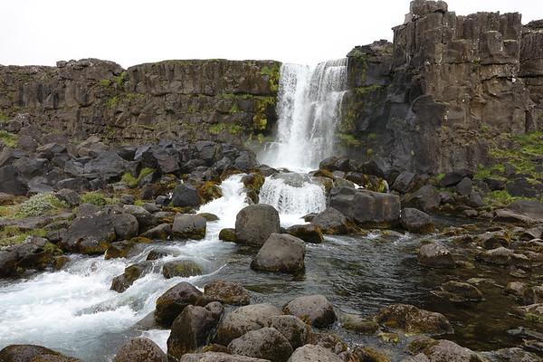 Öxarárfoss Waterfalls